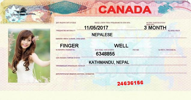 Which country's visa will you get?. This image may contain a user profile picture and app result which is generated by well finger app. Refresh the page if you do not see any picture.