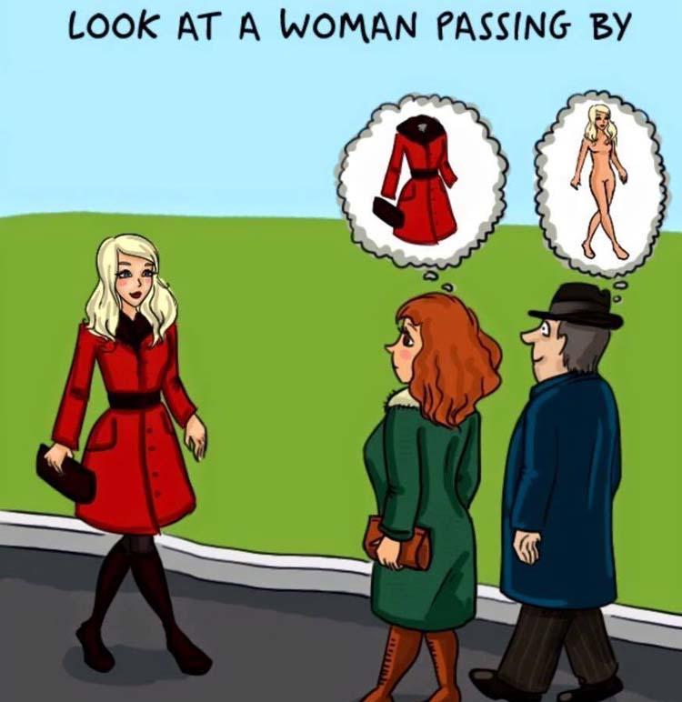 Men Vs women in everyday life