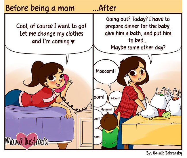 15 Cartoons That Will Make Every Mother Smile