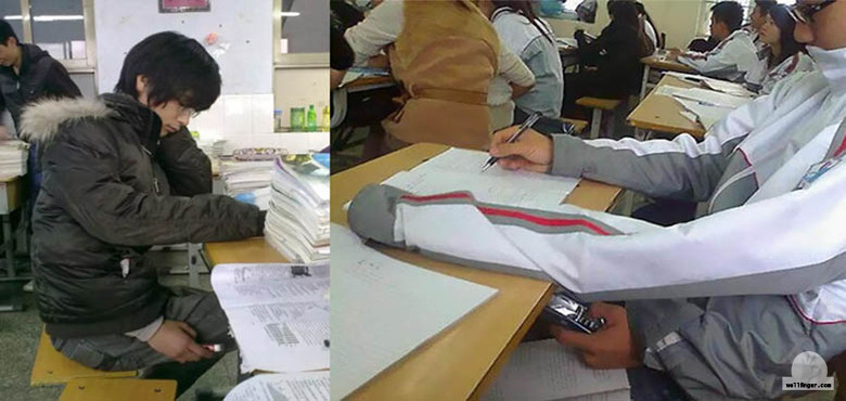 15 Plus  Genius Cheaters Who Deserve A Plus For Their Creativity in cheating I